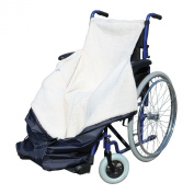 Wheelchair Cosy Wrap Fleece Cover Waterproof Cosy Lined Leg Cover - 41x9x38.5