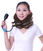 AMC Inflatable Cervical Vertebra Support Headache Relaxer Neck Traction Device