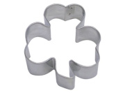 Shamrock Three 3 Leaf Clover Metal Cookie Cutter for St. Patrick's Day Irish Party Favours 7cm