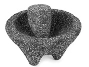 Molcajete Mortar & Pestle For Salsas & Spices From Mexico Handmade New