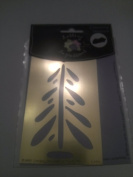 Lasting Impressions fir tree Brass embossing Template
