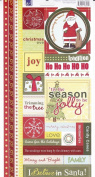 Christmas Cardstock Stickers - Christmas Tradition