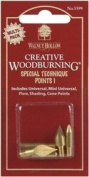 Creative Woodburning Special Technique Points-5/Pk
