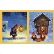 Svein Solem's Nisse Gift Enclosure Cards