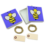Busy As A Bee White Gift Boxes Set of 2