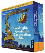 Goodnight, Goodnight, Construction Site and Steam Train, Dream Train Board Books Boxed Set [Board book]