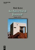 Architectural Journal 1960-1975