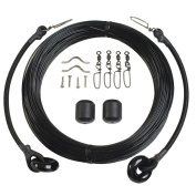 Lee's Deluxe Rigging Kit - Single Rig Up To 37ft. - Black Mono
