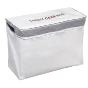 ABSOLUTE OUTDOOR 50571W Vinyl Safety Gear Bag Wht