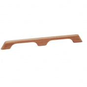 Whitecap Teak Handrail - 2 Loops - 60cm L
