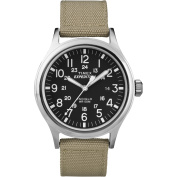 Timex Expedition Scout Metal Watch - Khaki/Black