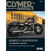 Clymer Harley-Davidson XL883 & XL1200 Sportster
