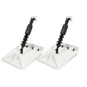 Nauticus Smart Tabs SX 24cm x 25cm w/80lb Actuator - White