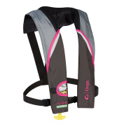 Onyx A-60cm -Sight Automatic Inflatable Life Jacket - Pink/Grey