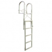 Dock Edge SLIDE-UP Aluminium 5-Step Dock Ladder