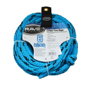 Rave Sports 01037 6 Rider Tow Rope