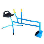 Outdoor Boys Girls Toy Metal Digger Blue - Sand Pit Use