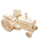 Build A Working Wood Vehicle Kit - TRACTOR