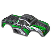 Redcat Racing Truck Body Green and White