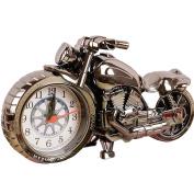 Moolecole Cool Motorcycle Shape Alarm Clock Creative Fashion Personality Home Furnishing