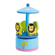 """Legler """"Lion Dance"""" Musical Box"""