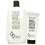 Alyssa Ashley musk shower gel & body & hand lotion set 500 ml + 100 ml