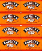 Wrights Traditional Soap Bar 125g x 8 Bars