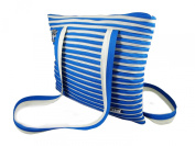 Zip 'N' Roll Large Tote Shoulder Bag - Made From a Single Zip