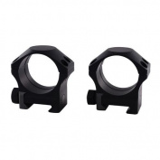 Nightforce Ring Set - 1.00 Medium - 34mm - Ultralite, 6 Bolt, Black, 1 A208