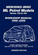 Mercedes-Benz ML Petrol Models Workshop Manual 1998-2006