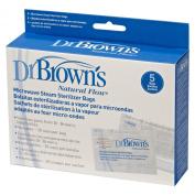 Dr Brown's Natural Flow Microwave Steam Steriliser Bags