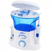 Dental Water Flosser Oral Care Water Pick Irrigator Home Pack 600ml Water Tank and 7 Pcs Tips
