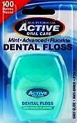 Active Mint Fluoride Dental Floss 100m