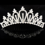 Female child princess child crystal rhinestone accessories hair accessory hair accessory comb crown