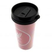 Liverpool Fc Plastic Screw Top Coffee Tea Travel Mug