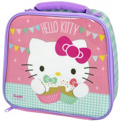 Hello Kitty Pink Tea Party Insulated Lunch Bag Sandwich Carrier
