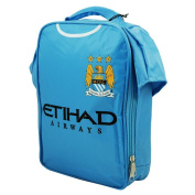 Manchester City FC Childrens Boys Official Insulated Football Shirt Lunch Bag/Cooler (One Size)