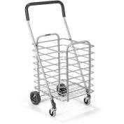 Polder Superlight Shopping Cart, Silver