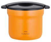 THERMOS vacuum thermal insulation cooker shuttle chef 4.3L apricot KBF-4500 APR