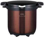 THERMOS vacuum thermal insulation cooker shuttle chef 4.5L clear brown KBG-4500 CBW