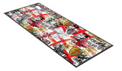 England St George All Over Design bar runner great for home bar shop cocktail party advertising tool bar mat