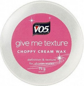 VO5 Give Me Texture Choppy Creme Wax - 75g