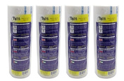 BARBER SALON PROFESSIONAL DISPOSABLE WATERPROOF NECK PAPER ROLL 4 x 500 STRIPS