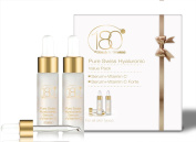 """180 Cosmetics - The """"Vitamin C Booster"""" Bundle - Pure Swiss Hyaluronic Acid Serum + Vitamin C + Pure Swiss Hyaluronic Acid Serum + Vitamin C FORTE. TWO AMAZING SERUMS AT AN INCREDIBLE PRICE! No Needles Needed & Highest Concentration of Hyaluronic Acid .."""