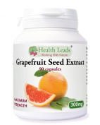 Grapefruit Seed Extract Maximum Strength (GSE) 300mg x 90 capsules
