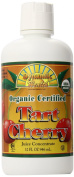 Dynamic Health 100 Percent Pure Organic Tart Cherry Juice Concentrate 32oz / 946ml