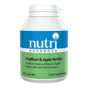 Nutri Advanced Psyllium & Apple Pectin 100 Capsules