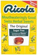 Ricola Swiss Sugar Free Herb with Stevia herbal drops 45g