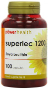 Power Health 1200mg Super Lecithin - Pack of 100 Capsules
