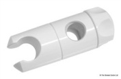Mira Essentials Clamp Bracket Assembly White (for 19mm Rail) 439.05